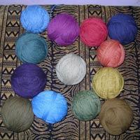 Herbal Dyed Wool Yarn