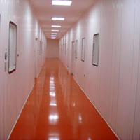 Glass Reinforced Polymer Clean Room