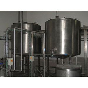 Stainless Steel Ghee Storage Tank