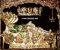 Anantha Padmanabha Tanjore Painting (10002)