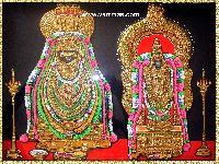 Annamalai Thayar Tanjore Painting (10036)