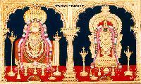 Annamalai Thayar Tanjore Painting (10037)