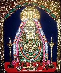 Annamalai Thayar Tanjore Painting (10038)