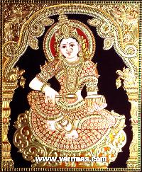 Annapoorani Tanjore Painting (10039)