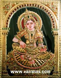 Annapoorani Tanjore Painting (10040)