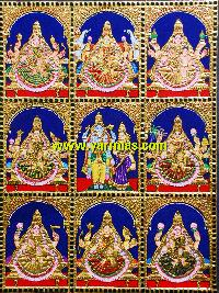 Ashtalakshmi Tanjore Painting (10054)