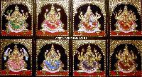 Ashtalakshmi Tanjore Painting (10057)