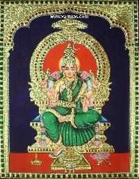 Buvaneswari Tanjore Painting (10064)