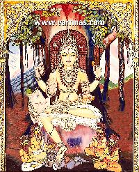 Dakshinamurthy Tanjore Painting (10129)