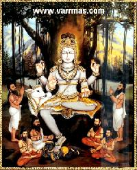 Dakshinamurthy Tanjore Painting (10131)
