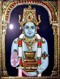Dhanvantari Tanjore Painting (10206)