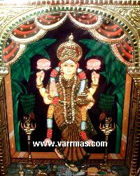 Grihalakshmi Tanjore Painting (10328)