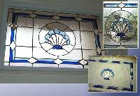 Staircase Glass Painting