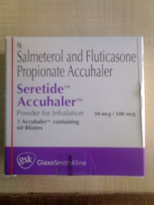 Salmeterol and Fluticasone Propionate Inhaler
