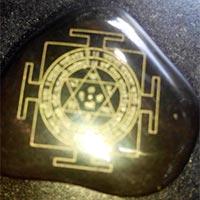 Shri Yantra on Stone