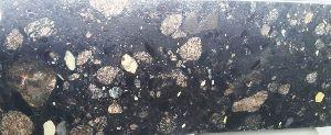 Pebble Mix Leather Polish Granite slab