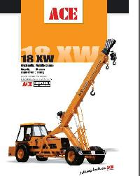 Pick And Move Cranes (18XW)