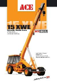 Pick And Move Cranes (Leaflet 15XW-E)