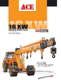 Pick And Move Cranes (Leaflet 16XW)