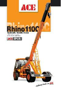 Pick And Move Cranes (Rhino 110C)