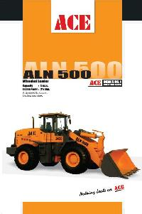 Wheel Loader (ALN 500 - Front Back)