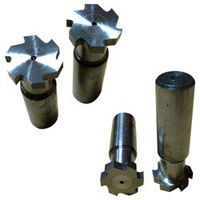 Solid Carbide T Slot Cutters