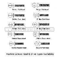 Stainless Steel Machine Screws 01