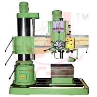 Double Column Heavy Duty Radial Drilling Machine 50mm Cap