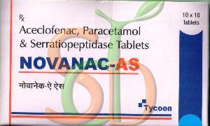 Novanac-AS Tablets