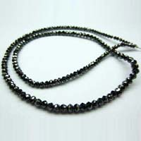 Black Moissanite Diamond Beads