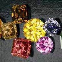 GIA Certified Fancy Colored Diamonds