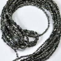 Natural Black Diamond Beads