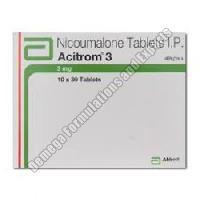Acitrom 3mg Tablets