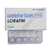 Loratin 10mg Tablets