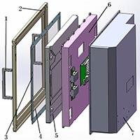 Rugged Vehicular and Shipboard LCD (RL20_1280.1024)