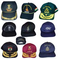 Embroidered Cap Peaks