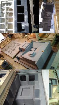 CNC Machine Parts Pattern 01