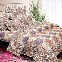 Jacquard Weaved Pollycotton Bed Cover
