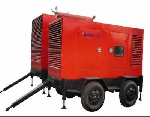 Trolley mounted mobile Genset