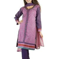 Cotton Churidar Suit
