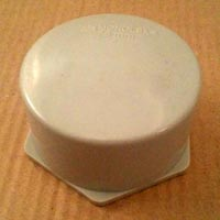 PVC Threaded End Cap (75mm)