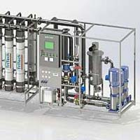 Continuous Membrane Water Treatment Plant