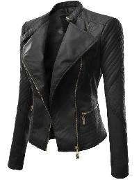 Leather Ladies Jaket 01
