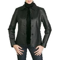Leather Ladies Jaket 02