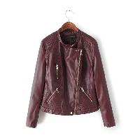 Leather Ladies Jaket 03