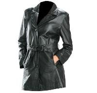 Leather Ladies Jaket 04