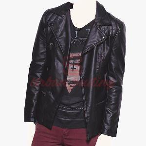 Men Detachable Collar Jacket