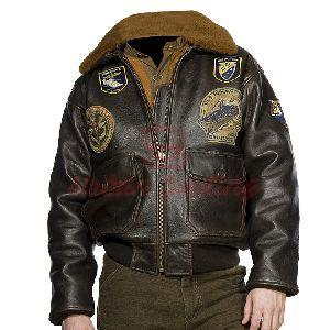 Pilot Vintage Leather Jacket