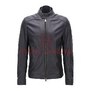 Regular Fit Jacket in Lambskin Nappa Leather