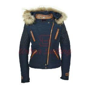 Navy Parka Style Jacket